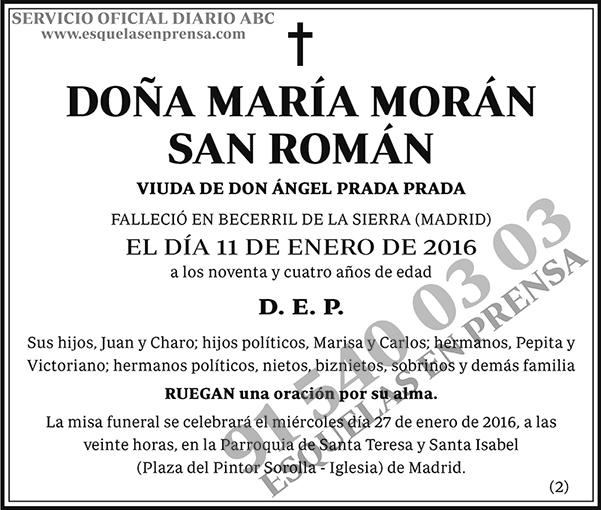 María Morán San Román